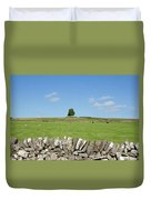 Peak District Landscape Duvet Cover