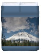 Peak Reflections Duvet Cover