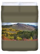 Peak To Peak Highway Boulder County Colorado Autumn View Duvet Cover