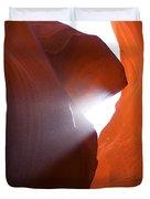Peaking Sun Light Duvet Cover