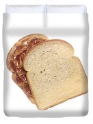 Peanut Butter And Jelly Sandwich Duvet Cover