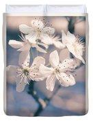 Pear Blossoms 4 Duvet Cover