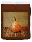 Pear On Cutting Board 1.0 Duvet Cover