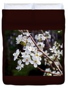 Pear Tree Blossoms IIi Duvet Cover