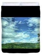 Pearisburg Virginia View Duvet Cover