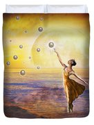 Pearls Of Heaven Duvet Cover
