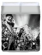 Pearly Kings And Queens Of London Hoxton Brick Lane Duvet Cover