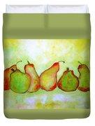 Pears - 2016 Duvet Cover