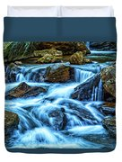 Pearsons Falls On Colt Creek Duvet Cover