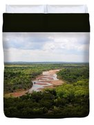 Pease On The River Duvet Cover