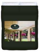 Pebble Beach Golf Shop  Duvet Cover