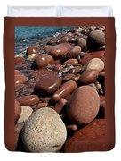Pebble Beach Duvet Cover