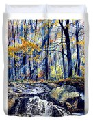 Pebble Creek Autumn Duvet Cover