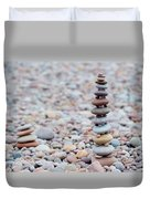 Pebble Stack II Duvet Cover