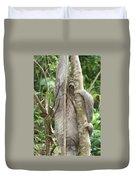 Peek-a-boo Sloth Duvet Cover