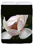 Peeking Magnolia Duvet Cover