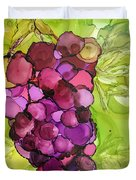 Peel Me A Grape Duvet Cover
