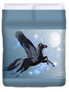 Pegasus Flight Duvet Cover