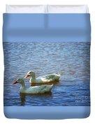 Pekin Ducks 20120515_15 Duvet Cover