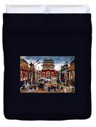 Peking: Commercial Center Duvet Cover