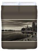 Pelican Bay Morning - Yellowstone Duvet Cover