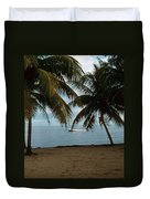 Pelican Beach Belize Duvet Cover