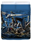 Pelican Fiesta Duvet Cover