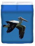 Pelican Flight Duvet Cover