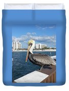 Pelican -florida Duvet Cover