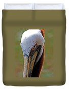Pelican Head Duvet Cover