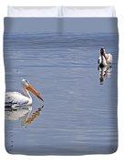 Pelican Mates Duvet Cover