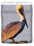 Pelican Perch Duvet Cover