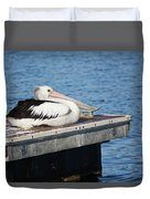 Pelican Taking Time Out 691 Duvet Cover