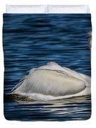 Pelican Wake Duvet Cover