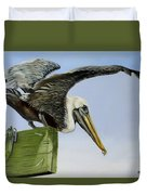 Pelican Wings Duvet Cover