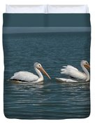 Pelicans Duvet Cover