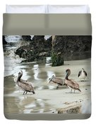 The Whole Gang Duvet Cover
