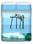 Pelicans Roost 1 4/25 Duvet Cover
