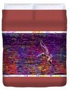 Pelikan Bird Brown Pelican  Duvet Cover