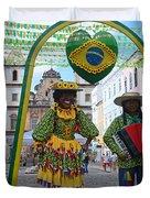 Pelourinho - Historic Center Of Salvador Bahia Duvet Cover