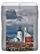 Pemaquid Point Lighthouse 4821 Duvet Cover