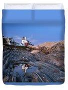 Pemaquid Point Lighthouse - D002139 Duvet Cover