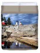 Pemaquid Reflection Duvet Cover