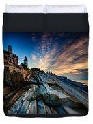 Pemaquid Sunrise Duvet Cover