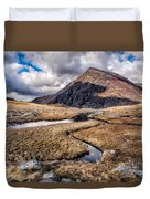 Pen Yr Ole Wen Mountain Duvet Cover