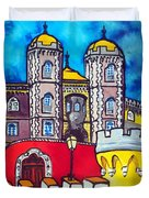 Pena Palace In Sintra Portugal  Duvet Cover