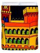 Pena Palace Portugal Duvet Cover
