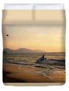 Penang Sunset Duvet Cover