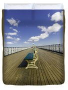 Penarth Pier 9 Duvet Cover