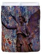 Pending Victory Goddess Victoria Duvet Cover